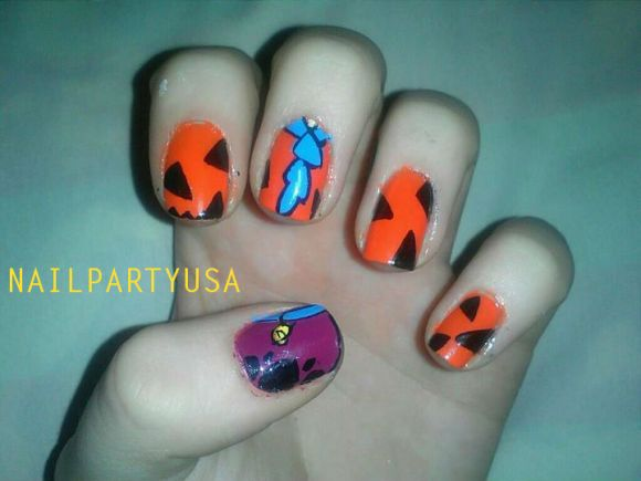 Scooby doo nail art nails gallery scooby doo nail art photos prinsesfo Image collections
