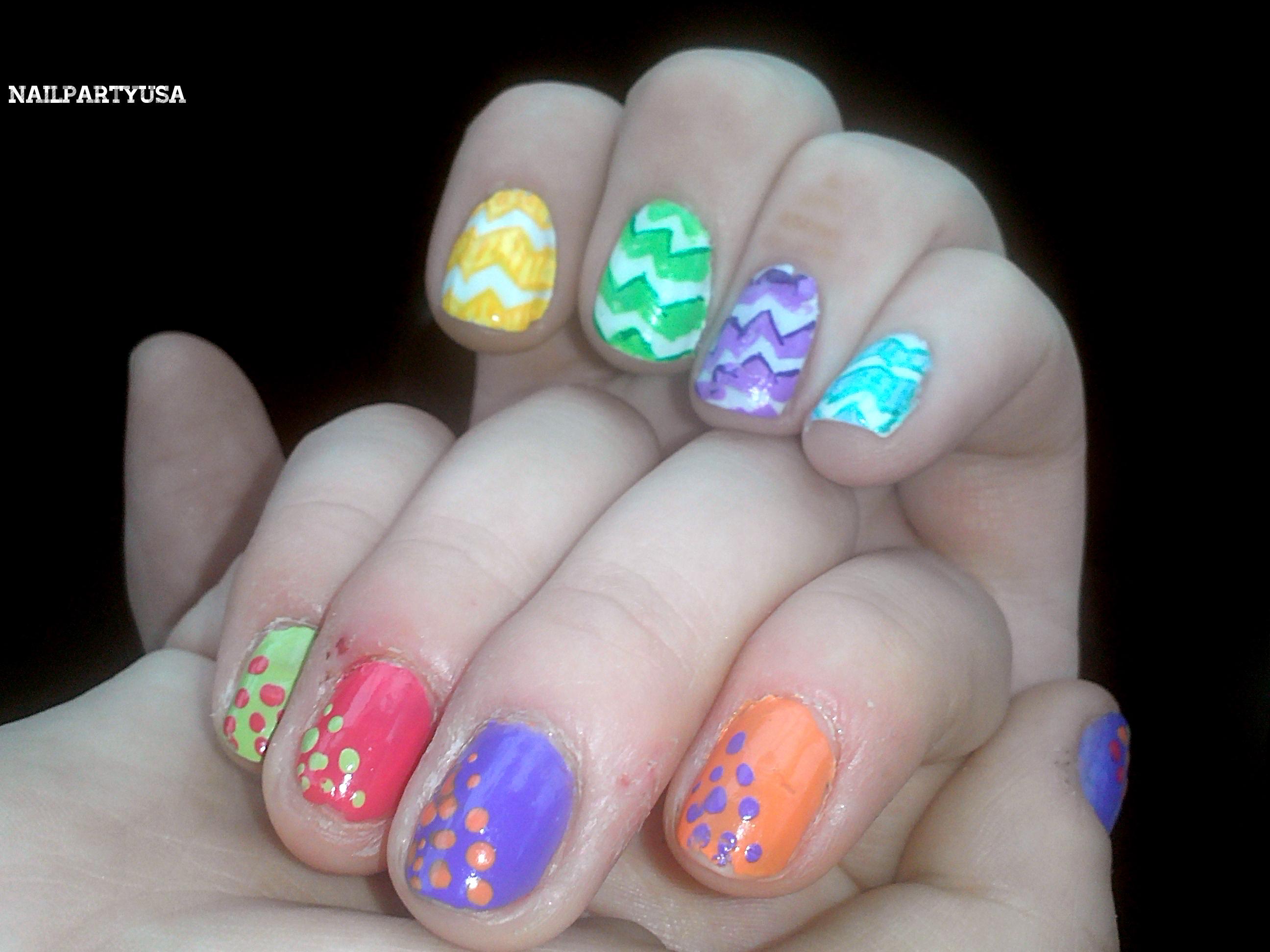 Cute summer nail designs 2012 tagged cute nails cute spring nail design cute spring nails easter nails prinsesfo Images