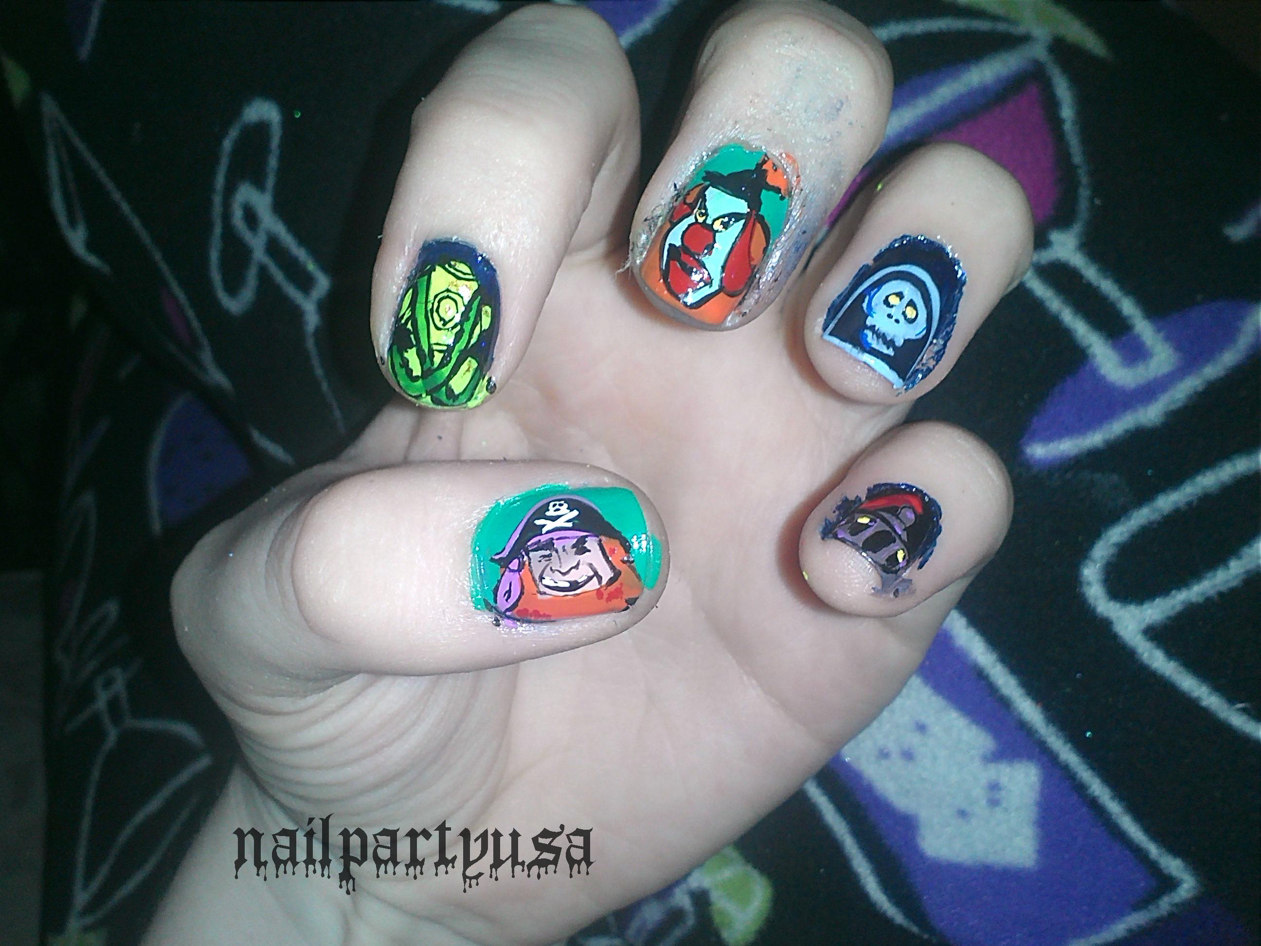 Nail Art Nail Party Usa